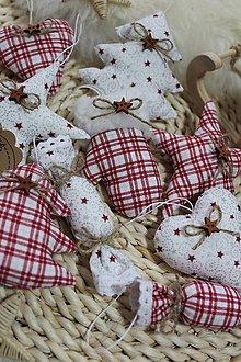 Dekorácie - Vianočná sada ozdôb - 12621093_