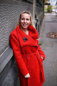 Kabáty - KABÁT RED - 12625073_