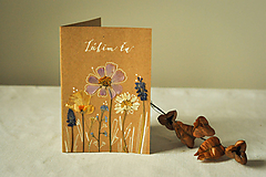 Papiernictvo - Pohľadnica - Ľúbim ťa - 12625797_