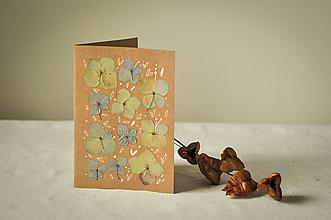 Papiernictvo - Pohľadnica Hortenzia - 12625769_