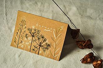 Papiernictvo - Pohľadnica - Ďakujem - 12625789_