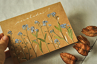 Papiernictvo - Pohľadnica - nezabudni! - 12625798_