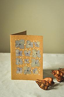 Papiernictvo - Pohľadnica - Hortenzia - 12625816_
