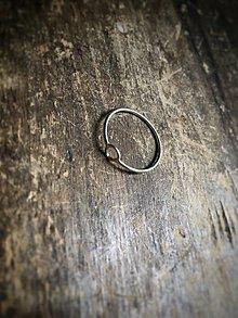 Prstene - Minimalistický prsteň Krúžok - 12623666_