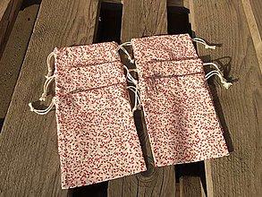 Úžitkový textil - Vianočné vrecúška - 12625354_