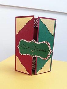 Papiernictvo - Vianočná pohľadnica s prekvapením - 12625446_