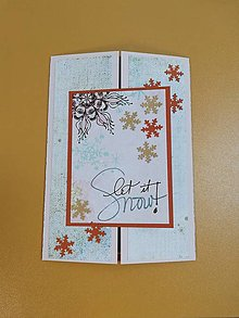 Papiernictvo - Vianočná pohľadnica s prekvapením - 12625548_