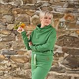 Šaty - Športové šaty Contrast (green) - 12623079_
