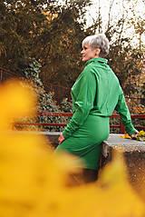 Šaty - Športové šaty Contrast (green) - 12623082_