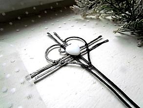 Dekorácie - Tepaný krížik 15 cm - 12620070_