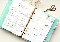 - Kalendár 2021 (A5, PDF na stiahnutie) Greenery - 12627862_