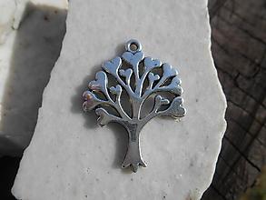 Komponenty - prívesky k náramkom,alebo len tak.. (stromček,cca3,4cm) - 12631774_