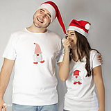- Vianočný škriatok - dámske alebo pánske tričko - 12630577_