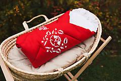 Textil - Vyšívaná ľanová zavinovačka Podpoľanie - 12628267_