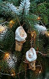 Dekorácie - Bábätko v deke ako ozdoba na vianočný stromček - 12630011_