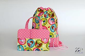 Detské tašky - Set pre škôlkara -pastelkovník a batoh Girls II. - 12628009_