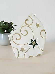 Rúška - Rúško vianočná hviezdička - 12626172_