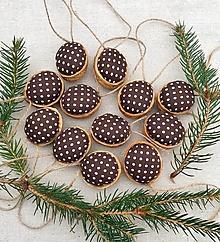 Dekorácie - Vianočné oriešky - 12626536_