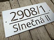 Tabuľky - Popisné číslo: Street - 12630369_