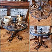 Nábytok - Konferenčny stolik koleso - 12628154_