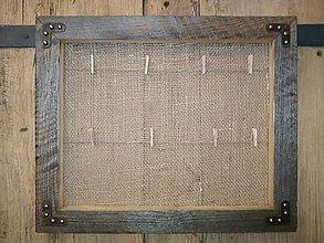 Rámiky - Rámik na fotky zo starého dreva - 12629432_