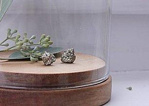 Náušnice - minerálne - 12626933_