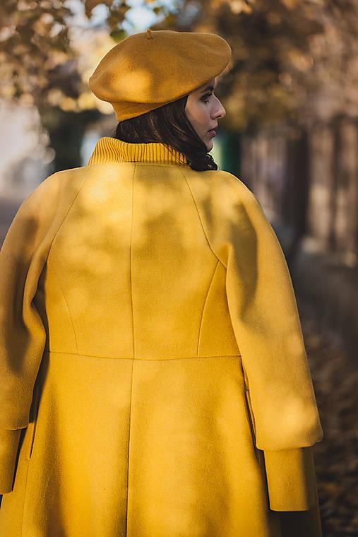 Kabáty - Kabát Kate (Žltá) - 12631025_