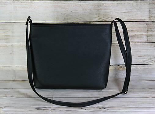 modrotlačová kabelka Angela čierna 1