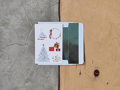 Vianočná kartička, Vianočné radosti