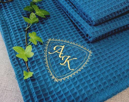 Darčekový set uterákov pre ♥PÁNA♥ (s monogramom) viac farieb
