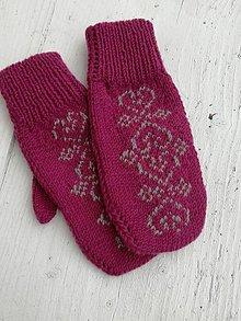 Rukavice - Dámske rukavice - 12635349_