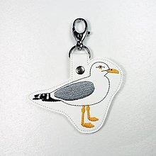 Kľúčenky - Kľúčenka čajka - 12636266_