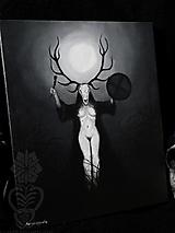 Obrazy - Šamanka - 12634029_