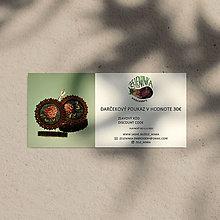 Darčekové poukážky - Darčekový poukaz na ručne vyšívané šperky (Darčekový poukaz v hodnote 30€) - 12635929_