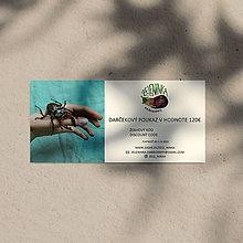 Darčekové poukážky - Darčekový poukaz na ručne vyšívané šperky (Darčekový poukaz v hodnote 120€) - 12635942_