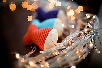 Dekorácie - Vianočné rybičky - 12634993_
