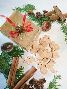 Dekorácie - Vianočné ozdoby na stromček - sada - 12632821_