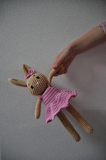 Hračky - Zajačica Žofia - háčkovaná hračka - 12634328_