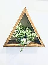 Nábytok - Dvojset Policovych stojanov  na rastliny z kolekcie Jonathan - 12636179_