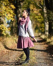 Sukne - Lněná sukně - laRose - 12636686_
