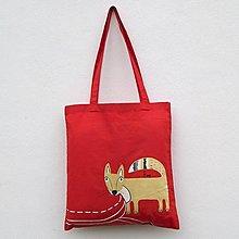 Nákupné tašky - Nákupka Fox - 12637689_