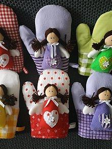 Úžitkový textil - Anjelské chňapky - 12641509_