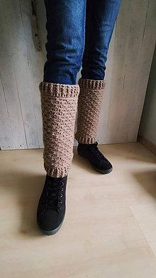 Iné doplnky - Hnedé návleky na nohy - 12638668_