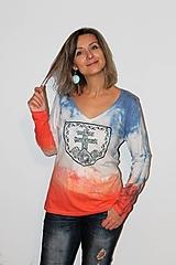"""Tričká - balikované tričko """"Patriot"""" - 12639598_"""