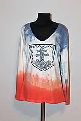 """Tričká - balikované tričko """"Patriot"""" - 12639603_"""