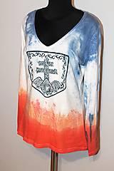 """Tričká - balikované tričko """"Patriot"""" - 12639605_"""