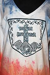 """Tričká - balikované tričko """"Patriot"""" - 12639606_"""