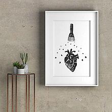 Grafika - Poteš moje srdce - 12640359_