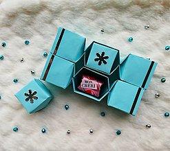 Krabičky - Origami vianočné salonky - 12639479_