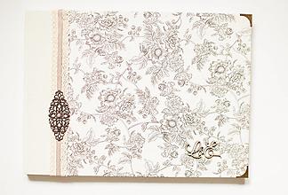 "Papiernictvo - Svadobný album "" floral II. "" - 12639523_"